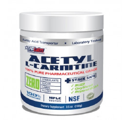 EHP Labs Acetyl L-Carnitine 100% Pure 100g