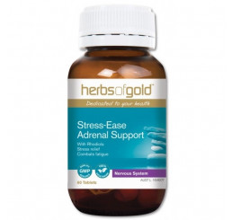 Herbs of Gold Stress-Ease Adrenal Support 60 Tablets
