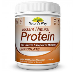 Natures Way Instant Natural Protein 375g : Natural