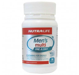 Nutra-Life Men's Multi One-A-Day 30 Vege Capsules