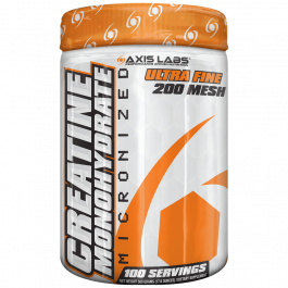 Axis Labs Creatine Monohydrate 100 Serves