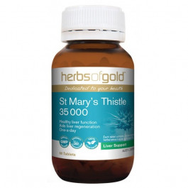 Herbs of Gold St Mary's Thistle 35000 60 Tablets