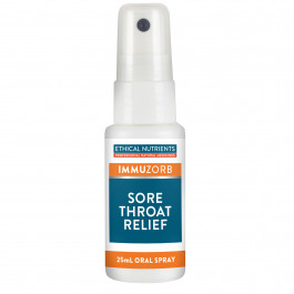 Ethical Nutrients Immuzorb Sore Throat Relief Spray 25mL