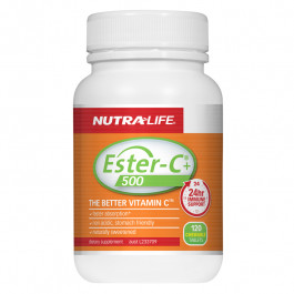 Nutra-Life Ester-C+ 500 Chewables 120 tablets