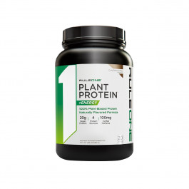 Rule 1 Protein R1 Plant Protein + Energy 20 Servings : Cold Brew Coffee