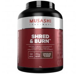 Musashi Shred & Burn Protein