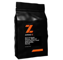 Amino Z Natural Apple Flavour. (Natural Apple Flavour, Food Acid (E296), Stevia)