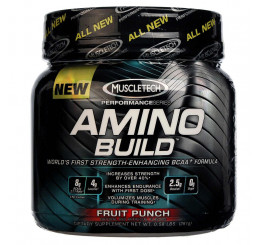 MuscleTech Amino Build 30 serve : Fruit Punch