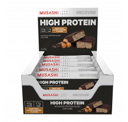 Musashi High Protein Low Carb Bars 90g (Box of 12)