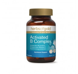 Herbs of Gold Activated B Complex Veggie Capsules