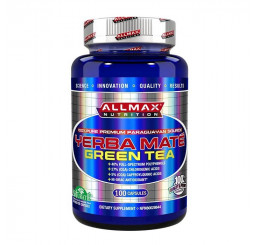 All Max Nutrition Yerba Mate Green Tea 100 Capsules