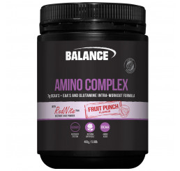 Balance Amino Complex 400g : Fruit Punch