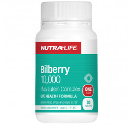 Nutra-Life Bilberry 10,000 plus Lutein Complex