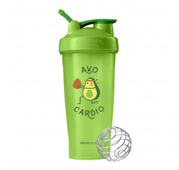Blender Bottle Classic Just for Fun with Loop Handle 828ml : Green
