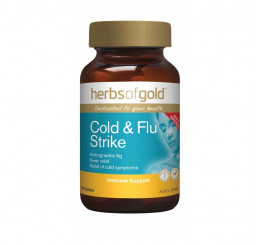 Herbs of Gold Cold & Flu Strike Tablets