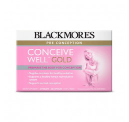 Blackmores Conceive Well Gold 56 Tablets/Capsules