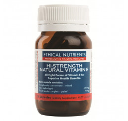 Ethical Nutrients Hi-Strength Natural Vitamin E 30 Capsules