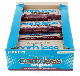 Horleys Carb Less Original Protein Bars 55g (Box of 12)