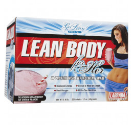 Labrada Lean Body for Her Meal Replacement 980g 20 pack