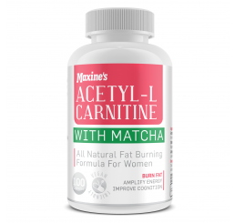 Maxines Acetyl-L Carnitine With Matcha 100 Capsules