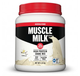 Muscle Milk Genuine Protein Powder 2.24kg Vanilla BEST BEFORE 03 APRIL 2020