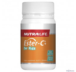 Nutra-Life Ester-C+ For Kids Chewable 60 Tablets