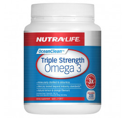 Nutra-Life Triple Strength Omega 3 Odourless Fish Oil