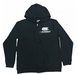 Optimum Nutrition Black Hoodie (Request Size in Checkout Comments - Only S/XL Available) (NOT FOR INDIVIDUAL SALE)