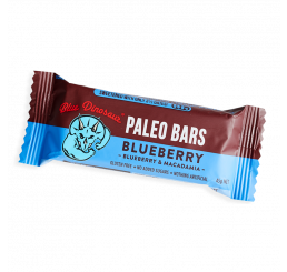 Blue Dinosaur Paleo Bars 45g : Blueberry