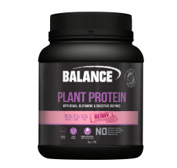 Balance Naturals Plant Protein 1kg : Berry