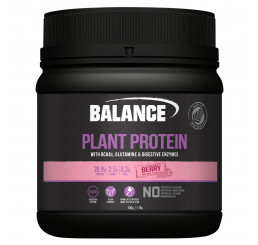 Balance Naturals Plant Protein 500g : Berry