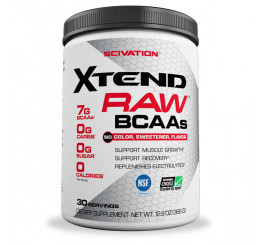 Scivation Xtend Raw BCAA 30 Serves Unflavoured