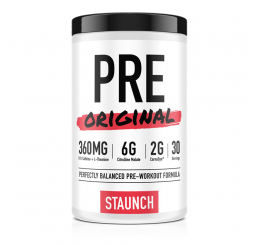 Staunch Nutrition PRE Original 30 Serves