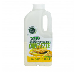 X50 High Protein Egg White Omelette 4 Serves : Cheese & Chive