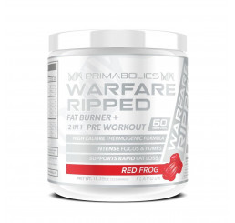 Primabolics Warfare Ripped 60 Serves : Red Frog
