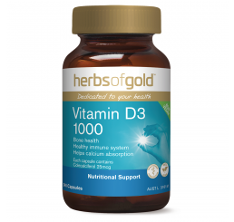 Herbs of Gold Vitamin D3 1000 240 Capsules
